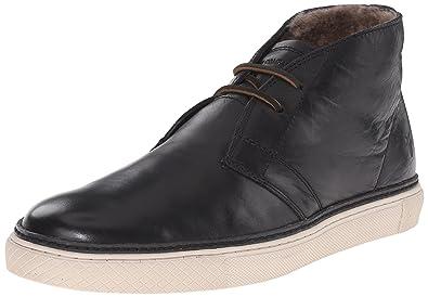 FRYE Men's Gates Chukka Fashion Sneaker, Black, ...