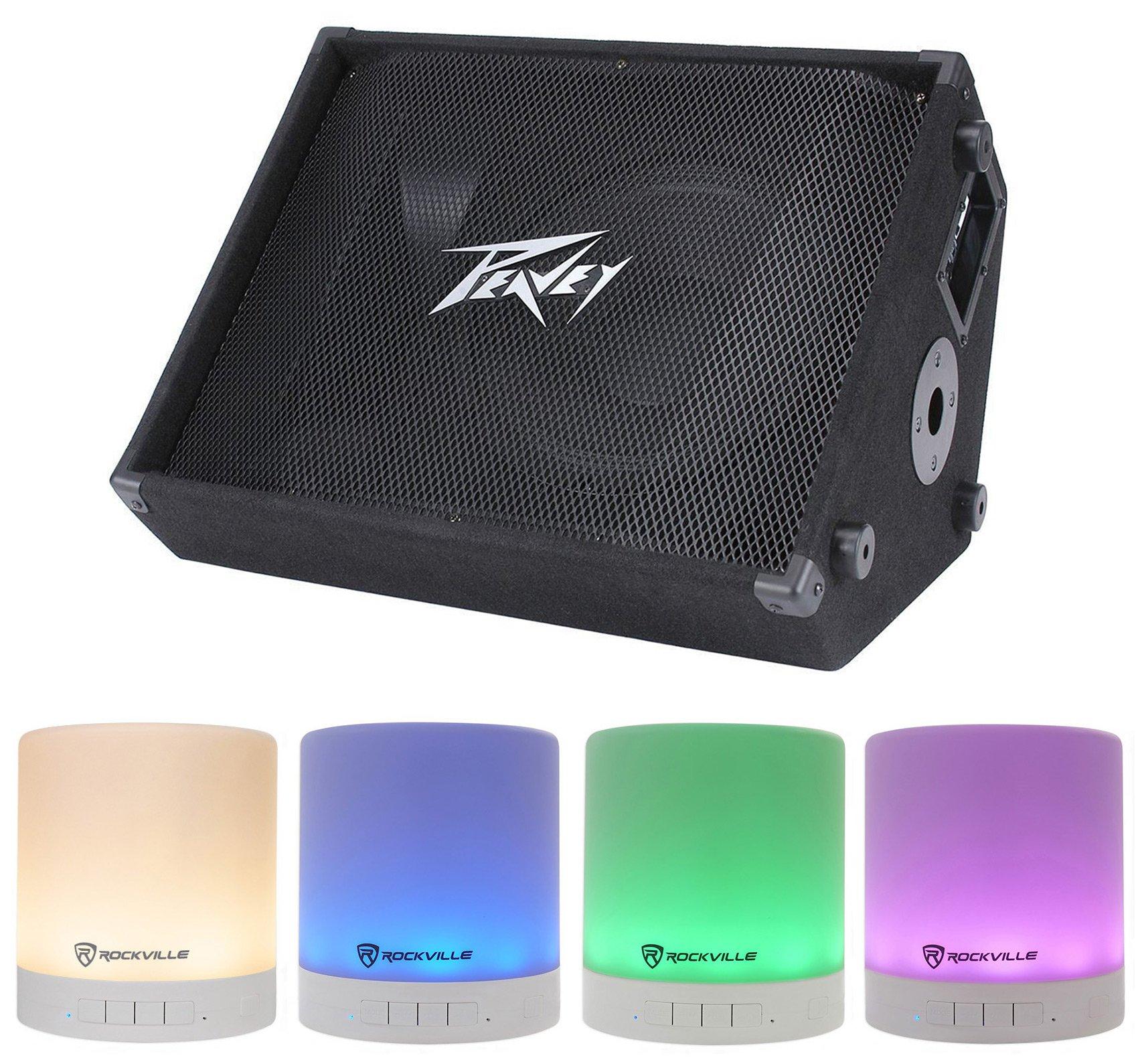 Peavey PV 12M 1000w 12'' Stage/Floor Monitor Speaker PV12M + Free Speaker !