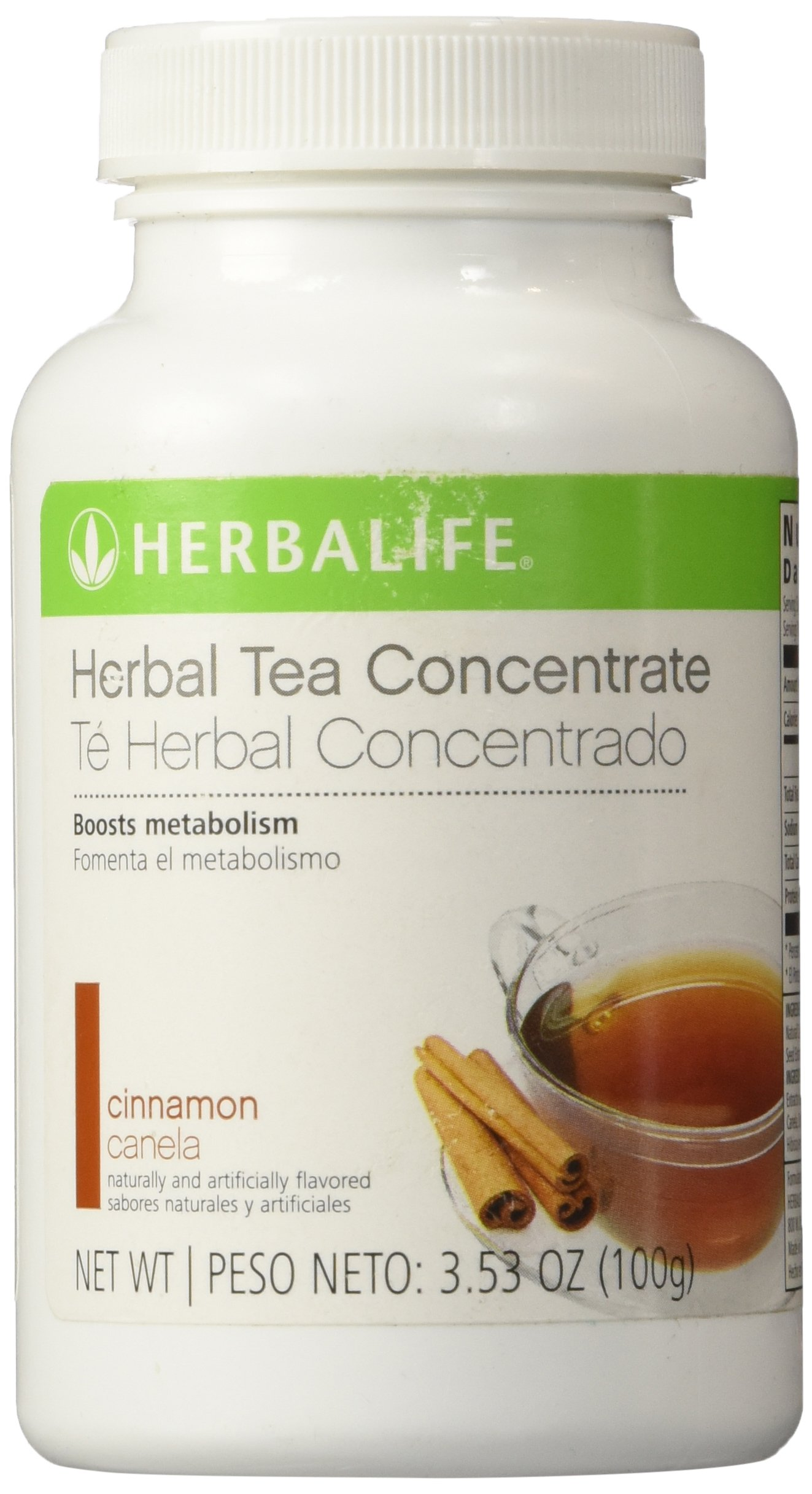 Herbalife Herbal Tea Concentrate (Cinnamon, 3.6oz)