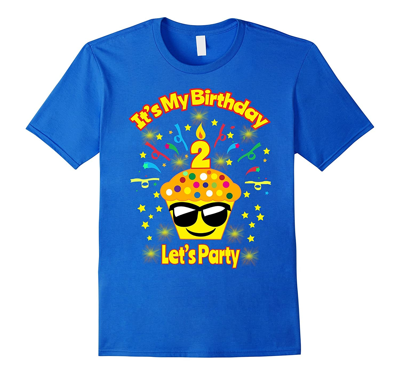Birthday Shirt For 2 Two Year Old Girl Boy Toddler Emoji CD