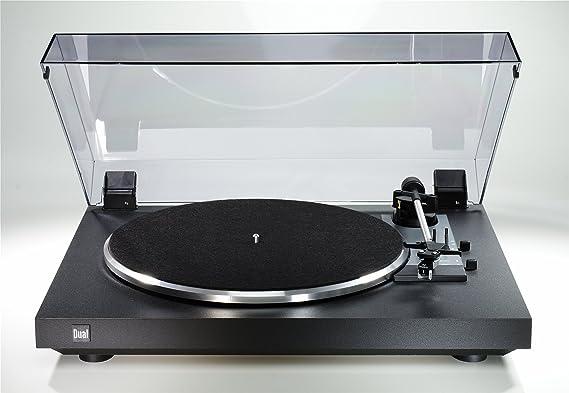 Dual CS 415-2 - Tocadiscos con amplificador, color negro: Amazon ...