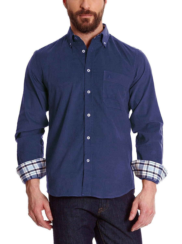 Macson Camisa Hombre Azul Marino 41 cm (03): Amazon.es: Ropa y ...