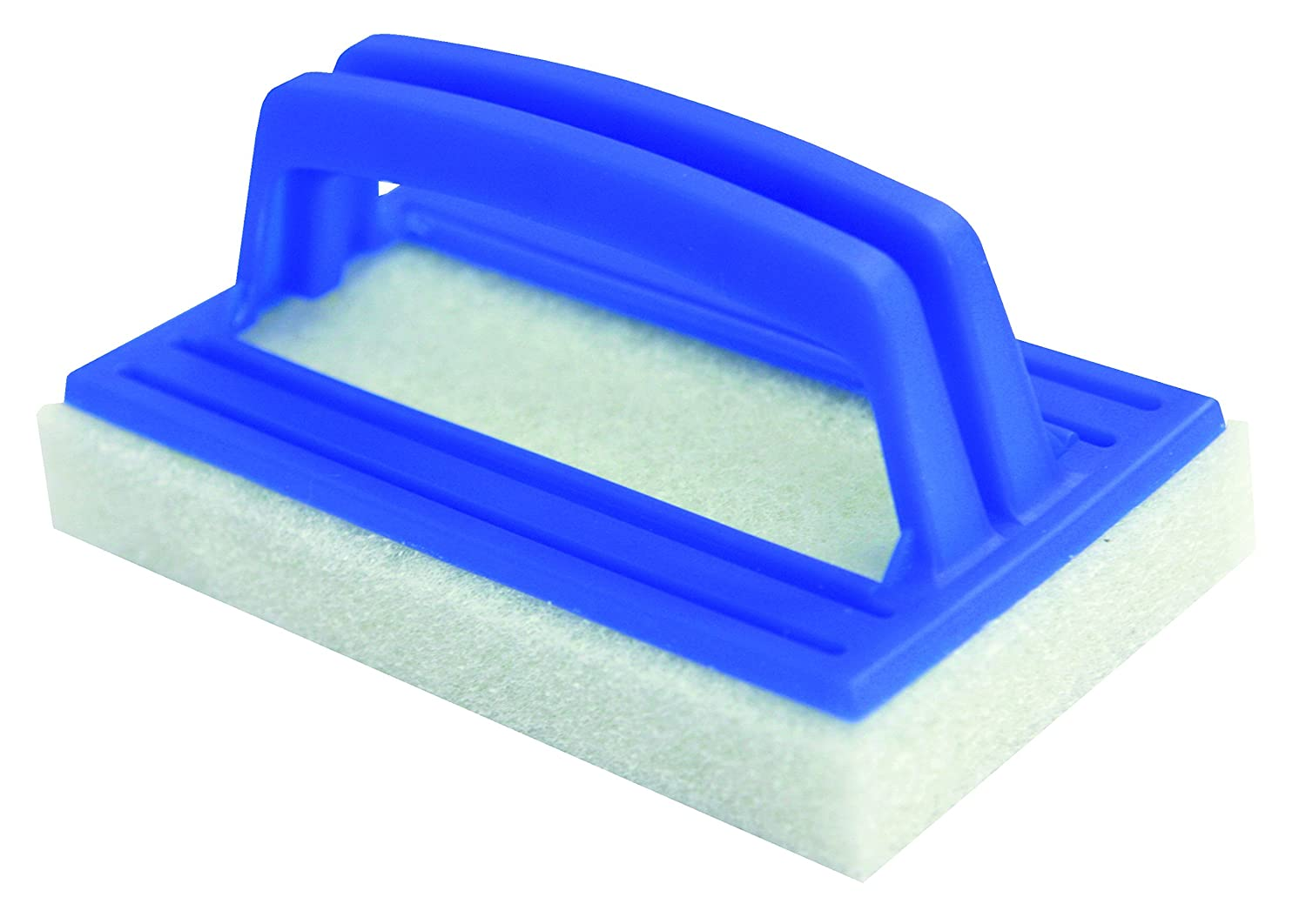 Steinbach removing leaves from swimming pools Scrubbing Brush with Handle deluxe Blue 145 x 85 x 25 MM 061130