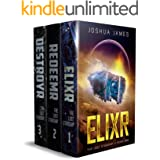 The Lost Starship: Books 1-3 Complete Saga: Elixr - Redeemr - Destroyr (Complete Series Box Sets)