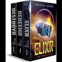 The Lost Starship: Books 1-3 Complete Saga: Elixr - Redeemr - Destroyr (English Edition)