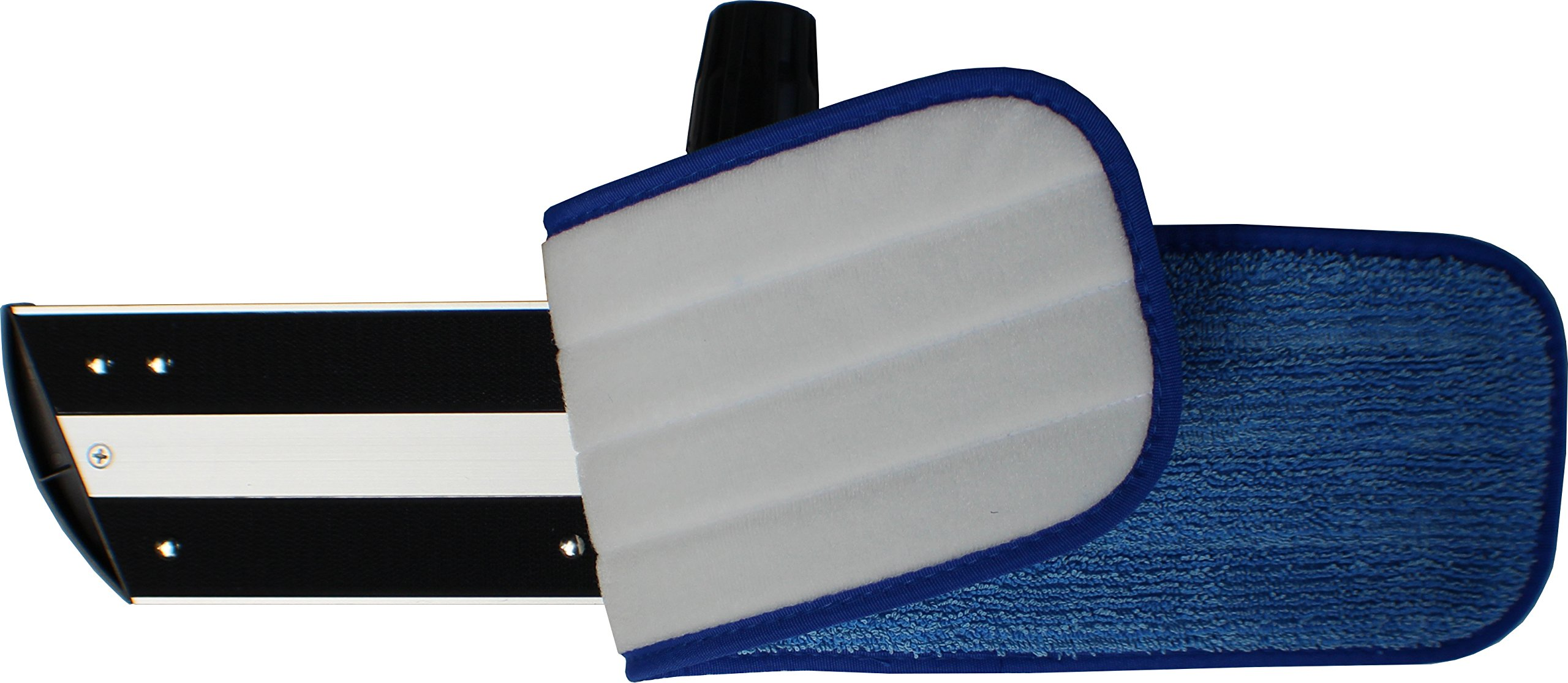 48'' Microfiber Mop Pads - Velcro, Launderable, Wet/Dry : 12 Pack by Direct Mop Sales (Image #4)