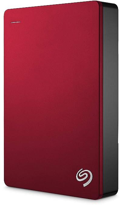 【タイムセール】Seagate ポータブル HDD 4TB バックアップソフト付 3年保証 外付 2.5 ハードディスク PC Mac PS4 対応 USB3.0 正規代理店品安心サポート有 赤