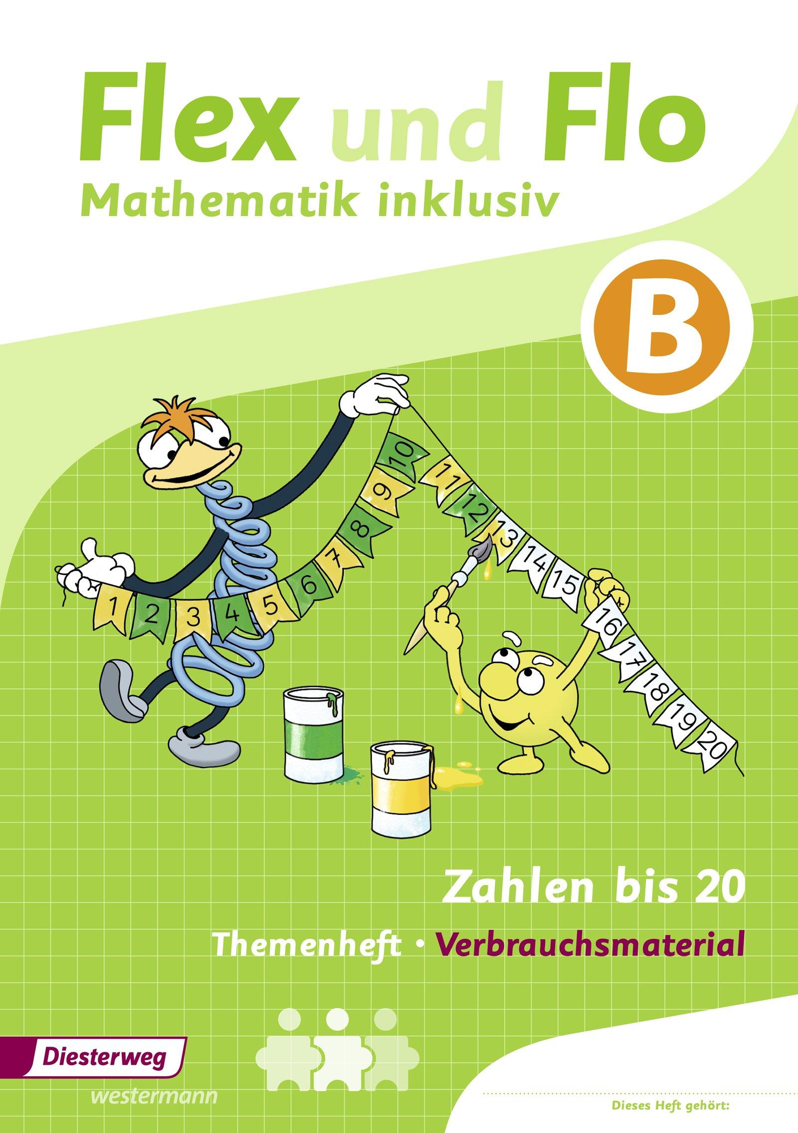 Flex Und Flo Mathematik Inklusiv Zahlen Bis 20 Inklusiv B 9783425136615 Amazon Com Books