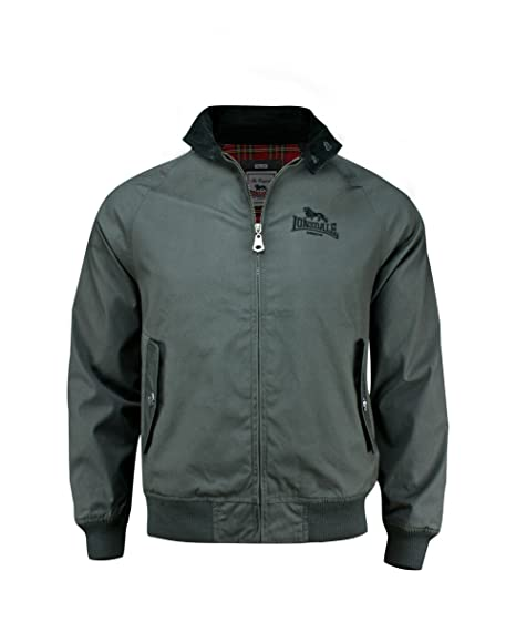 Lonsdale Jacke Exeter-Chaqueta Hombre antracita XS
