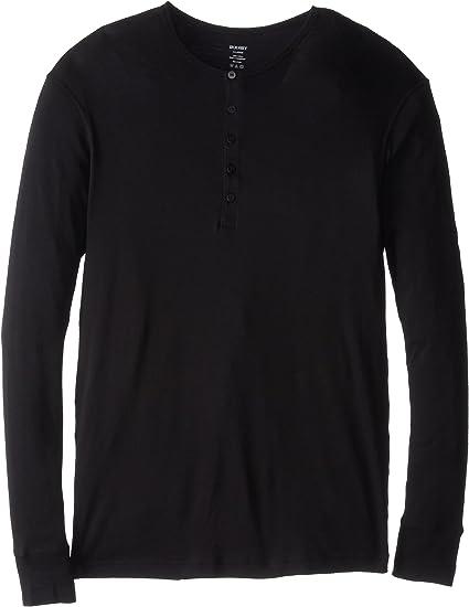 X 2 IST Men/'s Tartan-Placket Tech Red Henley Undershirt Shirt