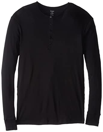 987bbbc0 2(X)IST Men's Essential Long Sleeve Henley at Amazon Men's Clothing ...