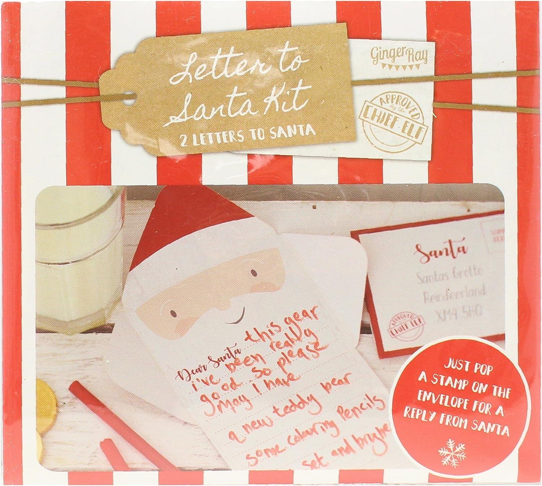 Santa /& Friends Christmas Letter To Santa