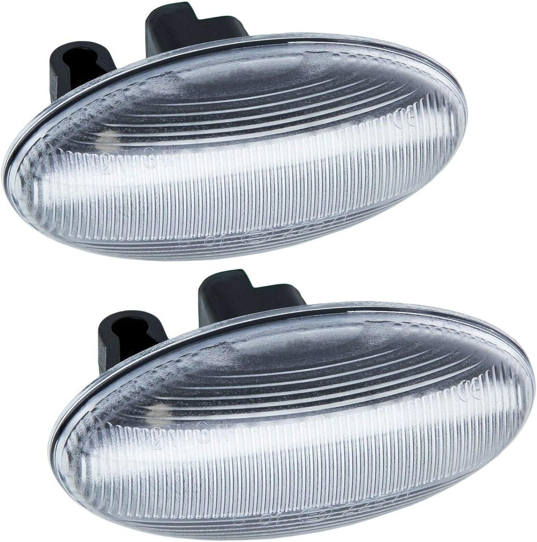 108 407 206 307 rm-style Clignotant LED Compatible avec Peugeot 107 607 LaRGLAS 1007