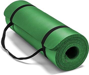 Amazon.com: Alfombra de yoga de alta densidad extra gruesa ...