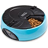 Home Intuition 6 Meal Automatic Pet Feeder with Programmable Timer