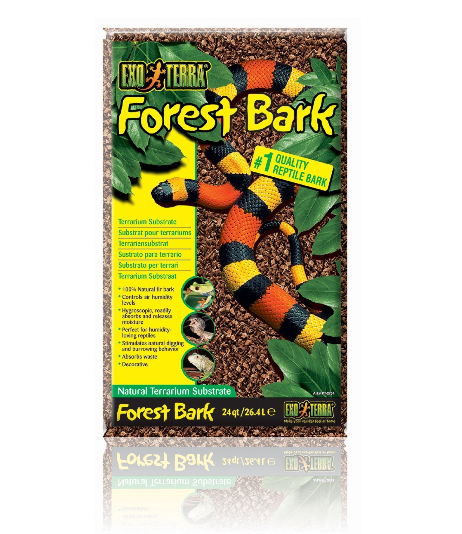 Exo Terra Exo Terra Forest Bark Terrarium Substrate, 26.4 L (24 Qt) by Exo Terra