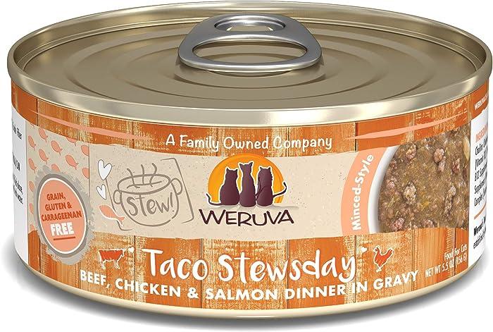 Weruva Classic Cat Stews! Grain-Free Natural Wet Cat Food Cans