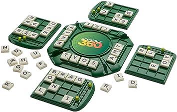 Mattel Games Juego De Mesa Scrabble 360º Mattel Ffp75 Amazon Es