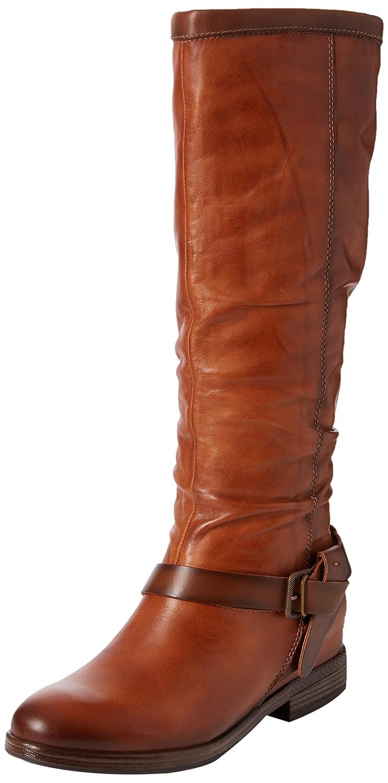 Pikolinos Pikolinos Pikolinos Womens Ordino Tall Buckle Leather Closed Toe Knee High Fashion Boots B06XMZFPNM 9.5 B(M) US|Brandy 2e2311