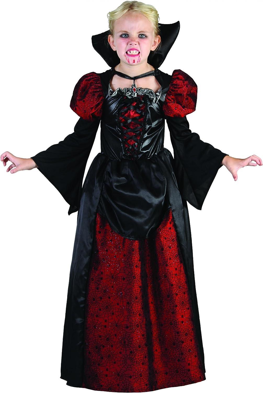 Disfraz de vampiro niña Halloween: Amazon.es: Juguetes y juegos