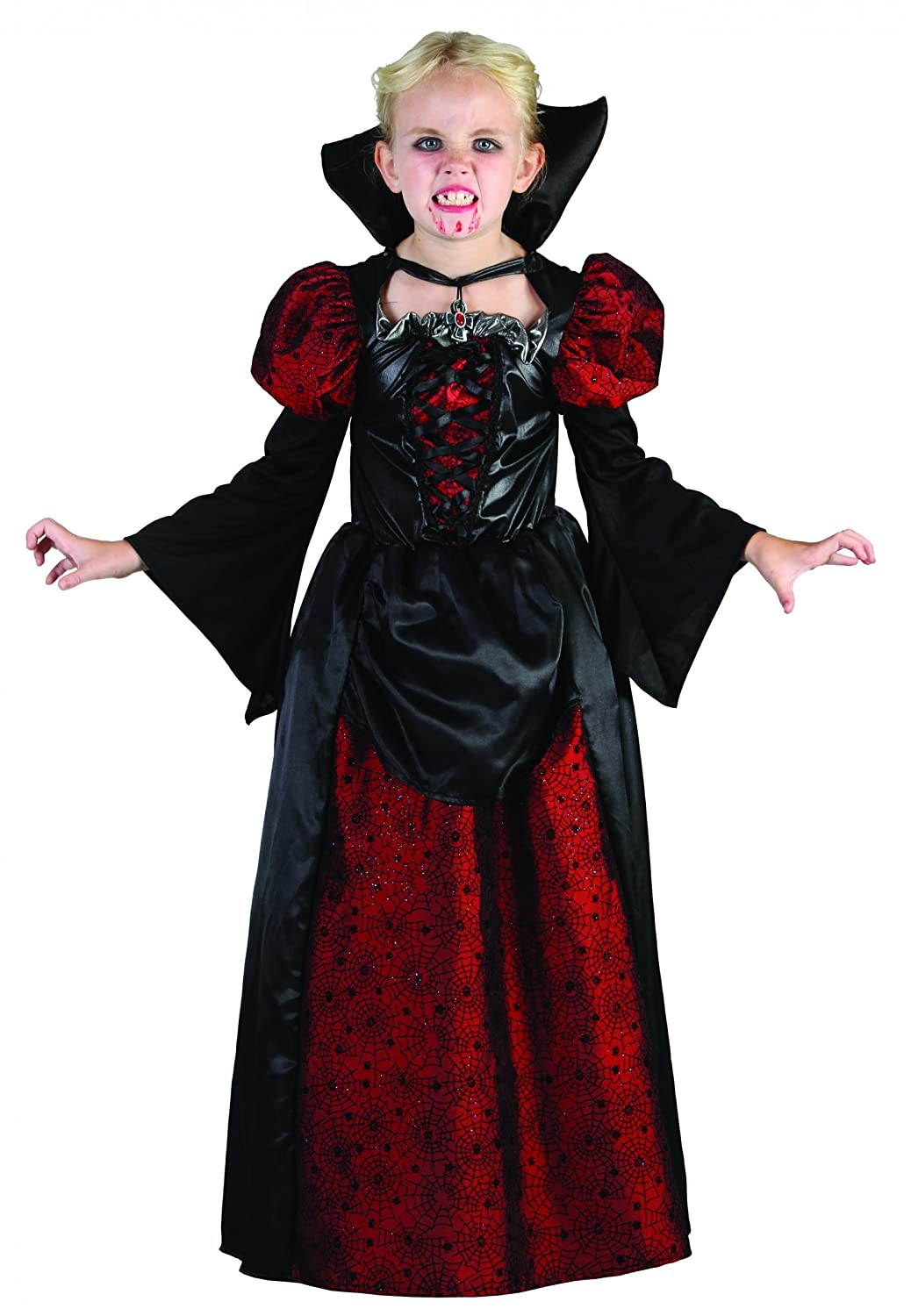 Girl's Vampire Fancy Dress Outfit