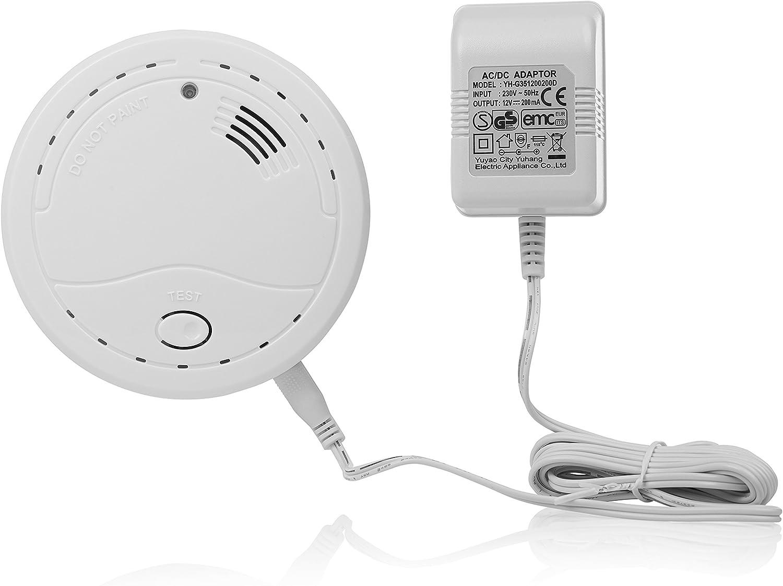 Detector de gas Smartwares RM400 – Gas natural – Propano – Butano – 85dB