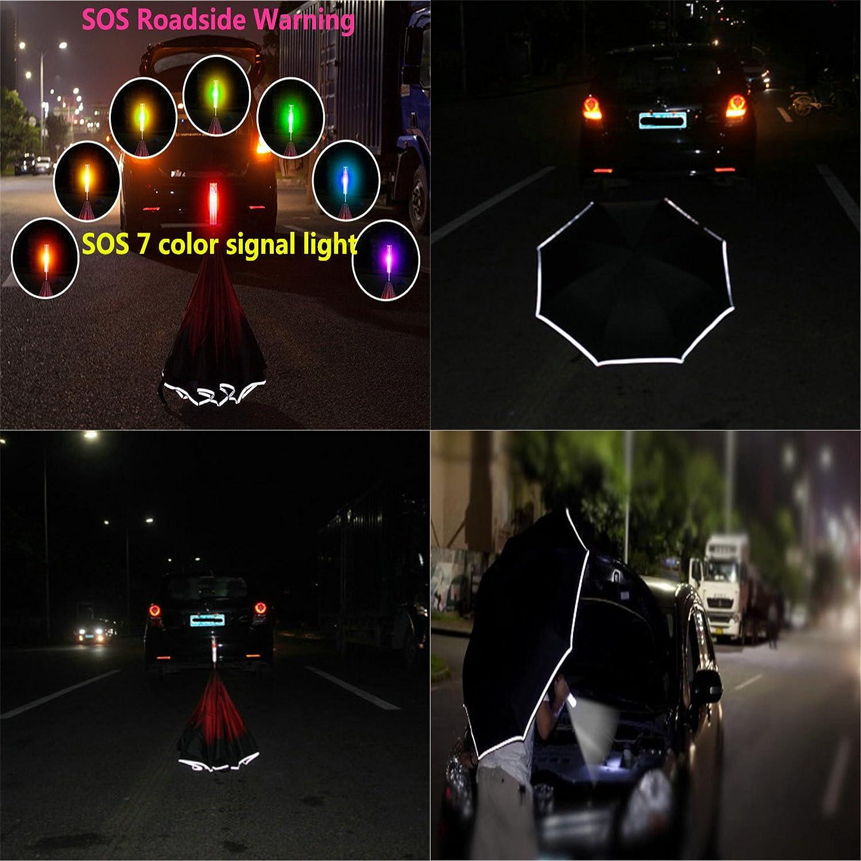c3ff5c628153 Amazon.com: Creative SOS Warning LED Car Reverse Umbrella Waterproof ...
