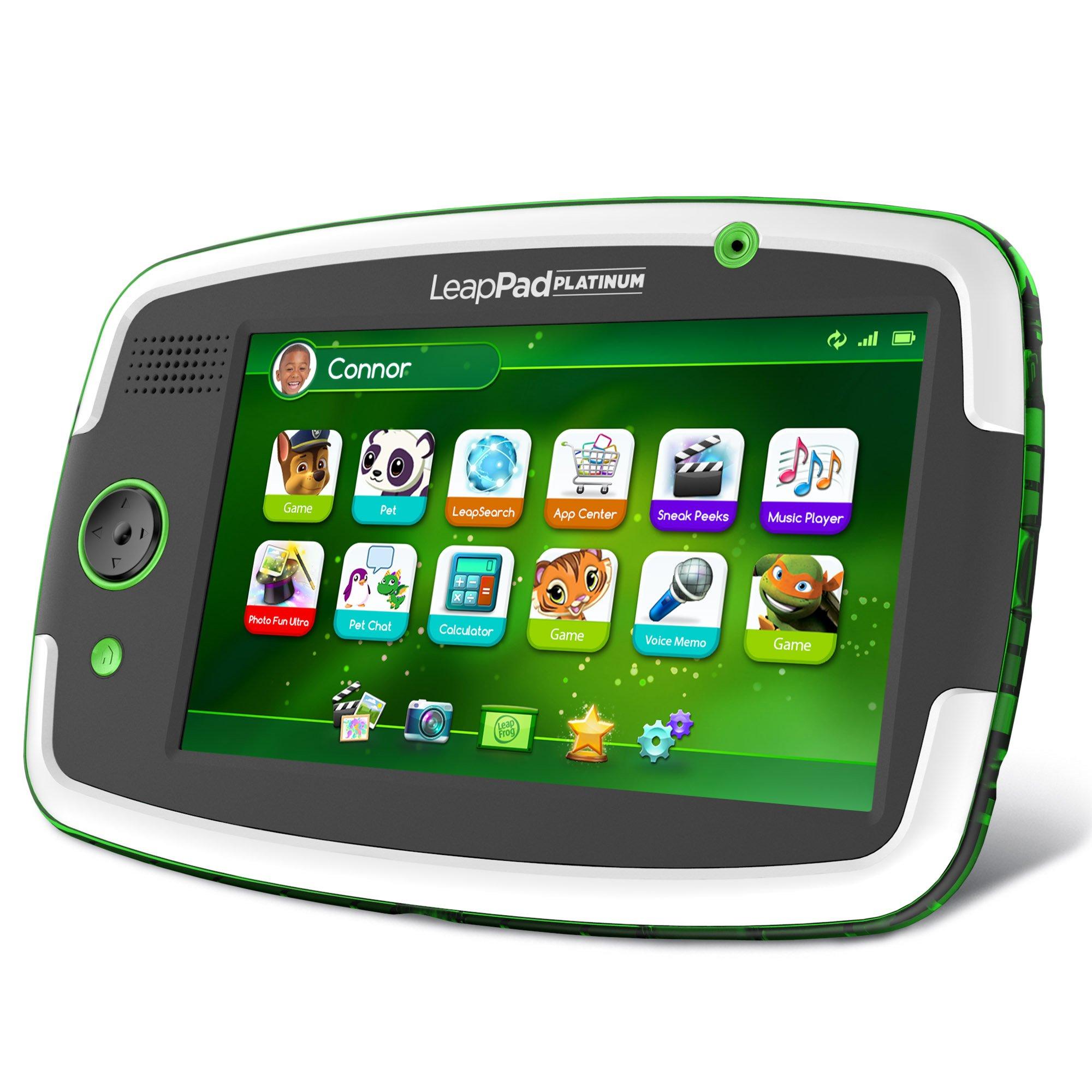 LeapFrog LeapPad Platinum Kids Learning Tablet, Green by LeapFrog. (Image #14)
