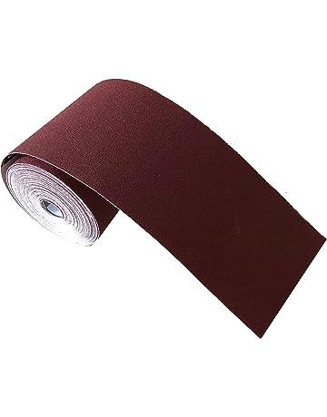 Rollo de papel de lija abrasivo de grano 320 1 m x 100 mm