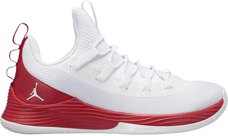 Jordan Ultra Fly 2 Low 42.5 EU|White-white-gym Red