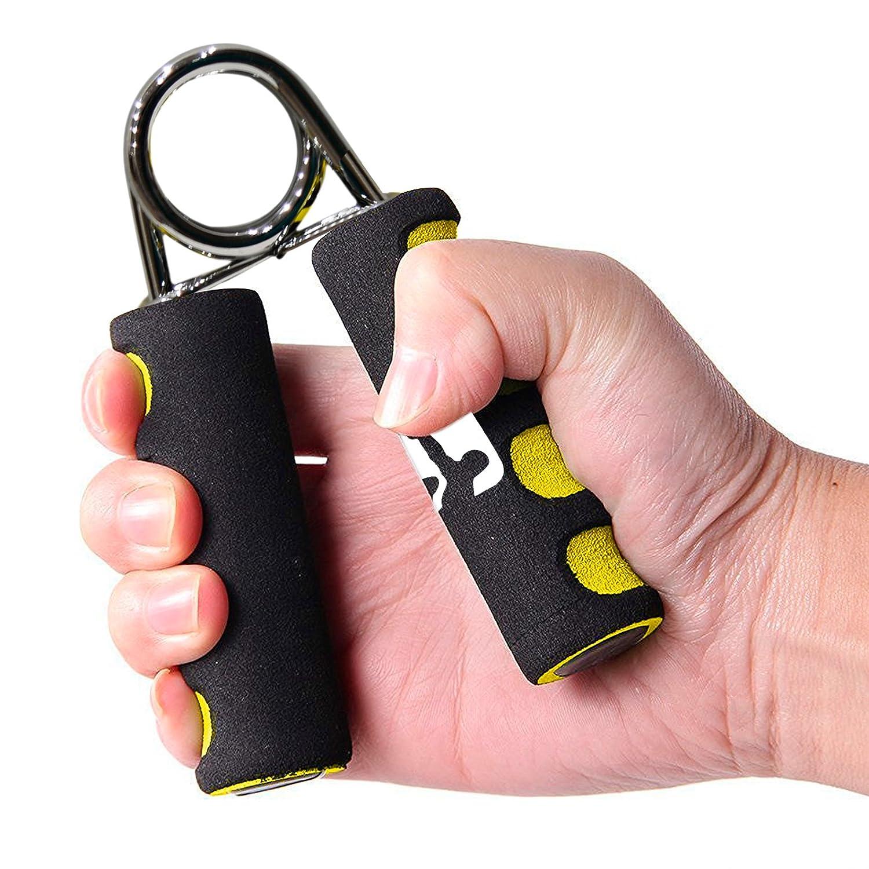 Sporteq Agarres de Extra Fuerte Fuerte Instructores Mano Grip Par con Mango de Espuma/ /Aumentar la Fuerza de Agarre