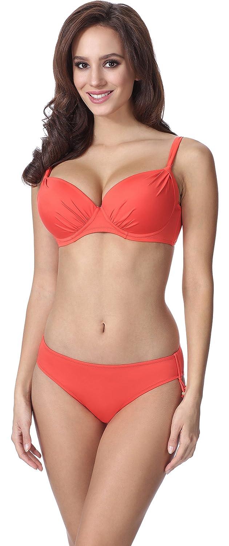 TALLA ES (Cup 100C / Parte Inferior 44). Feba Push Up Bikini Bañadores Trajes de Baño Conjunto Tops Sujetador y Bragas Ropa Vestidos Playa Verano Mujer F03