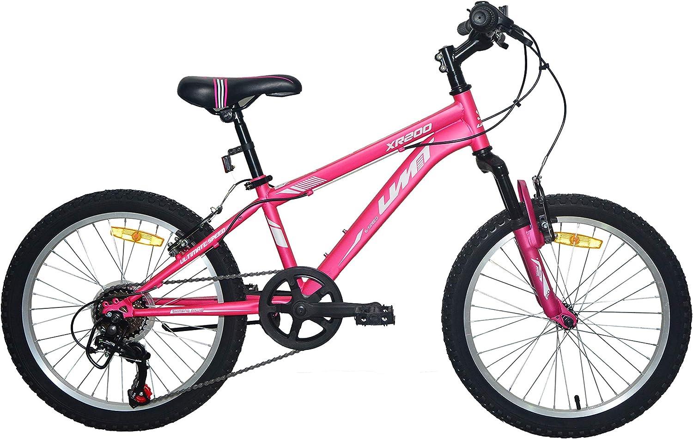 Umit 20 Pulgadas Rosa, Bicicleta XR-200 Partir de 6 años, con ...