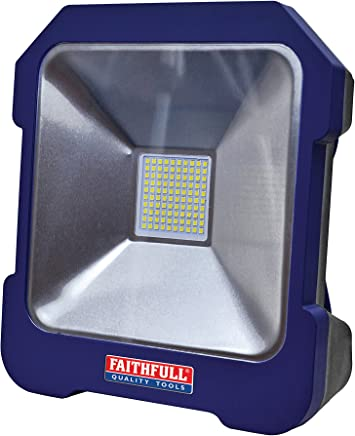 Faithfull FPPSLTL20 240v Cool Touch Task Light Power Take-Off Socket 20w