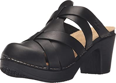 0ff59286ba1 Calou Stockholm Women's Nancy Black Clog/Mule 37 (US Women's ...
