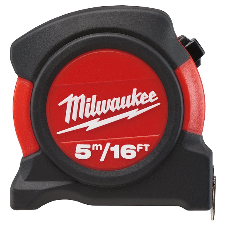 Milwaukee Tools-M/ètre /à ruban largeur 27 mm 8 m//25 m
