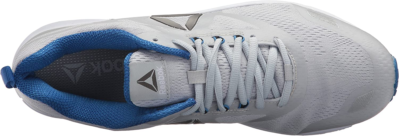 Reebok Men's Ahary Runner Sneaker Cloud Grey/Vital Blue/Sil