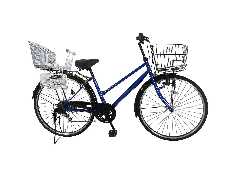即日発送 Lupinusルピナス 自転車 26インチ LP-266TD-KNR-S シティサイクル Lupinusルピナス 自転車 シマノ製外装6段ギア 後子乗せシルバー ブルー B0797KB3HW B0797KB3HW, コマツシマシ:83494100 --- greaterbayx.co