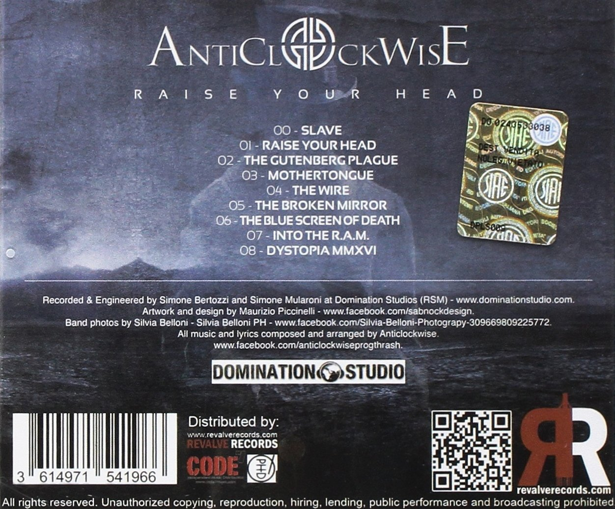 ANTICLOCKWISE - Raise Your Head - Amazon.com Music