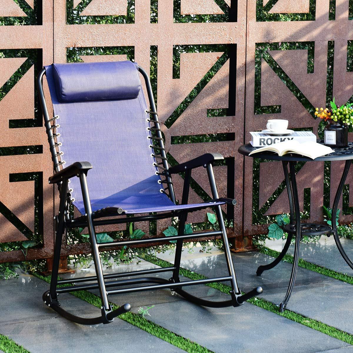 Yongtaifeng baño de Sol Silla de jardín sillones Mecedora ...