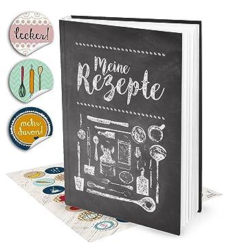 Set de regalo: XXL libro de recetas para escribir Pizarra de ...