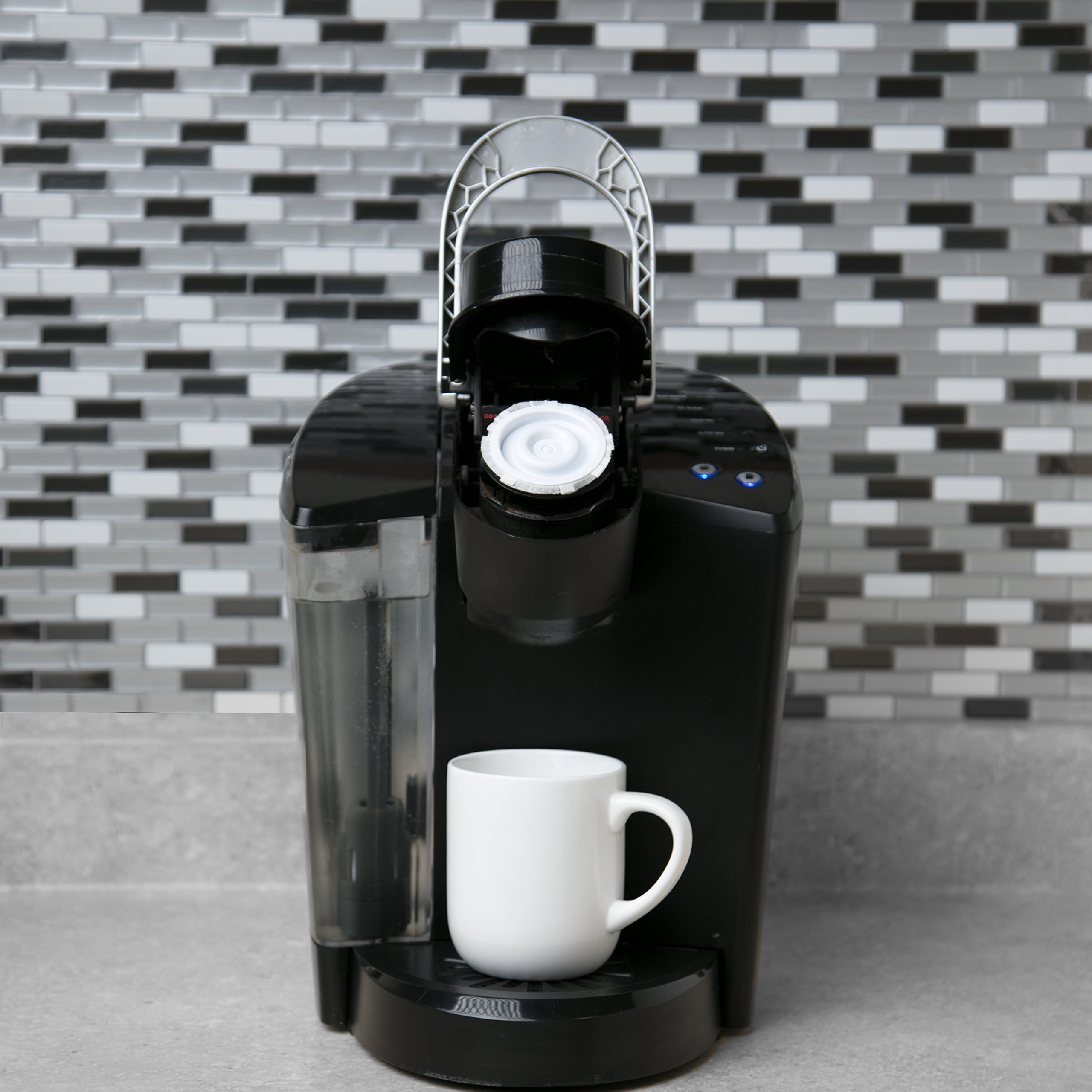 Disposable Cups for Use in Keurig Brewers - Simple Cups - 50 Cups, Lids, and Filters - Use Your Own Coffee in K-cups by Simple Cups (Image #7)