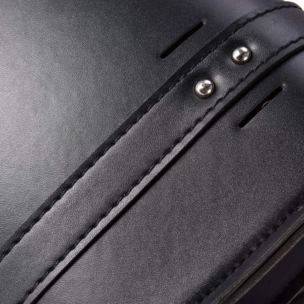 Universal PU Leder Motorrad Gabel Tasche Satteltaschen Lenkertasche Sis Sy Bar Aufbewahrungswerkzeug Tasche F/ür Weihnachten Neujahr Geschenkidee Motorrad Werkzeugtasche