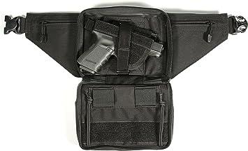 Weapon Fanny Pack With Thumb Break, Medium, Black: Amazon.es ...