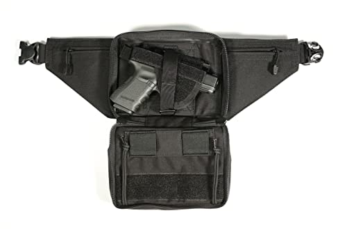 Blackhawk Concealed Weapon Fanny Pack with Holster and Retention Belt Loops