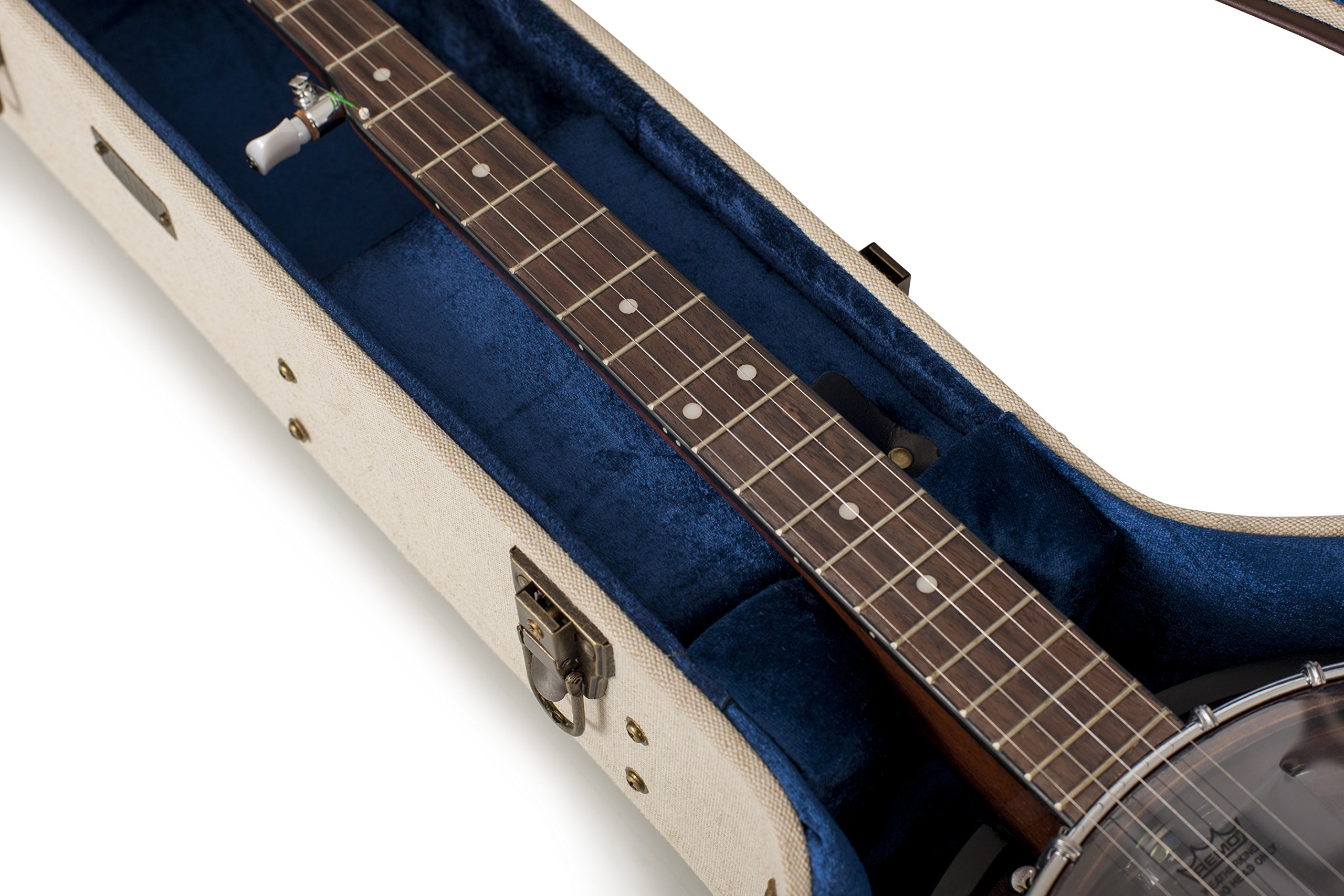 Gator Cases Journeyman Series Deluxe Wood Case for Banjos (GW-JM BANJO XL) by Gator (Image #7)