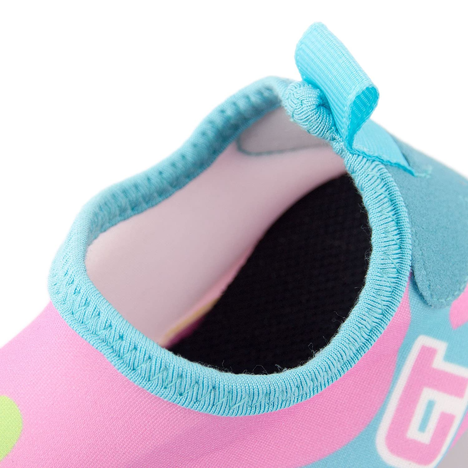 Dizoon Lightweight Kids Water Shoes Quick Drying Socks for Pool Beach
