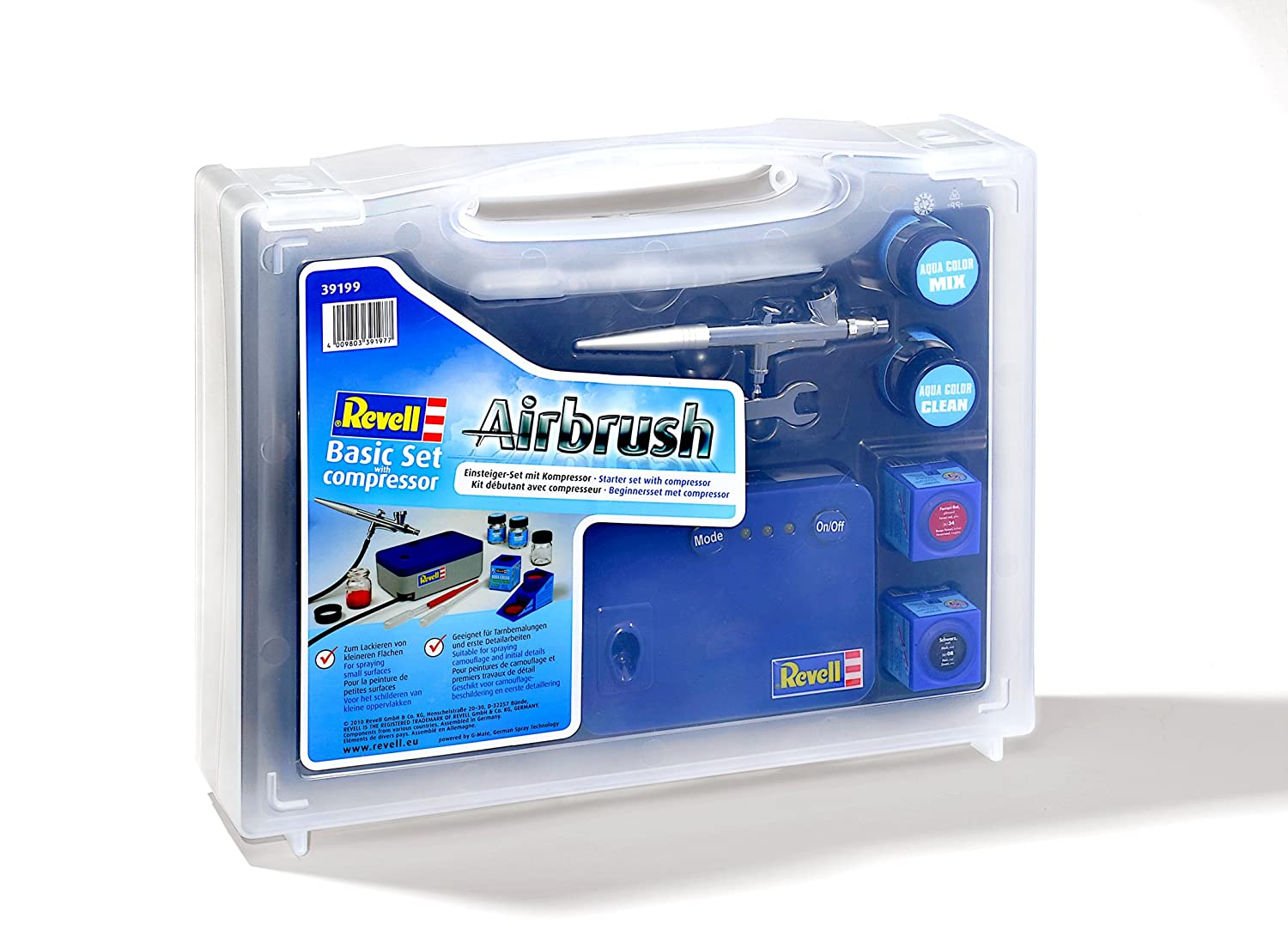 Airbrush Kompressor Test: Revell Basic Set (39199)