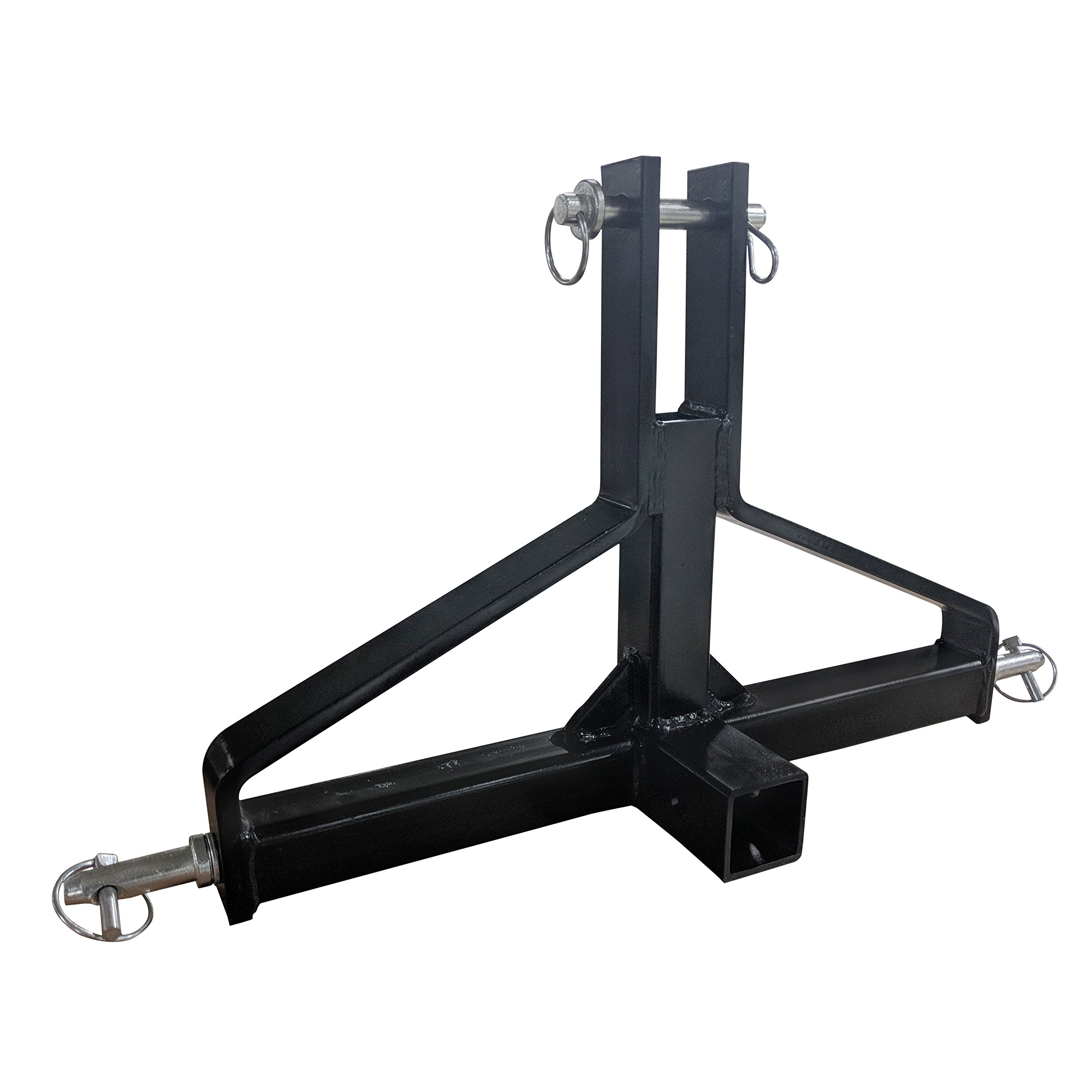 Titan Category 1 3-Point 2'' Receiver Hitch | Quick Hitch Compatible by Titan Attachments