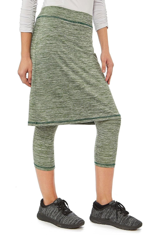 Snoga Athletics Modesty Workout Pencil Skirt with Capri Leggings
